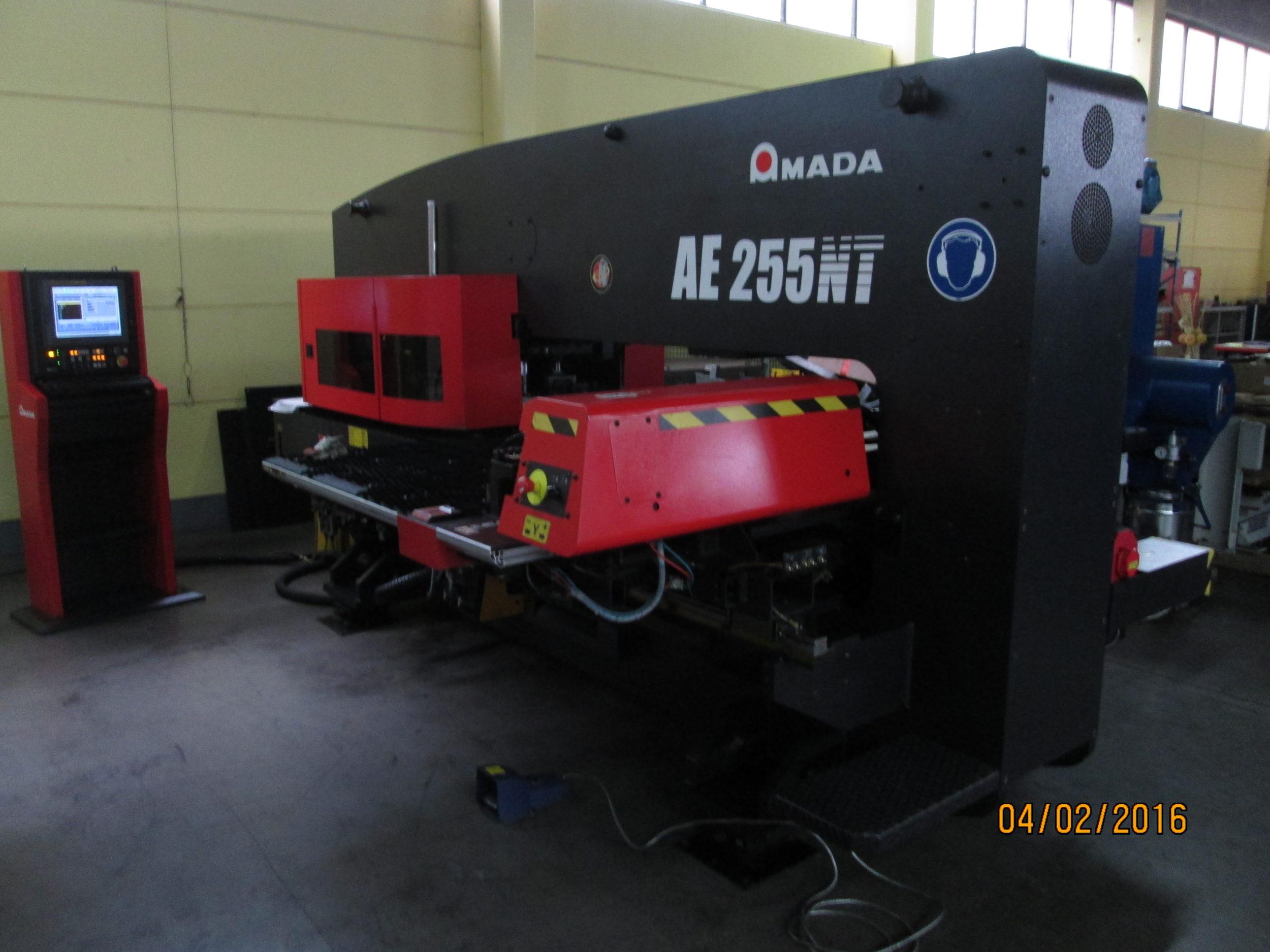 AE 255 NT 2011 1 scaled - Amada AE 255 NT 2011