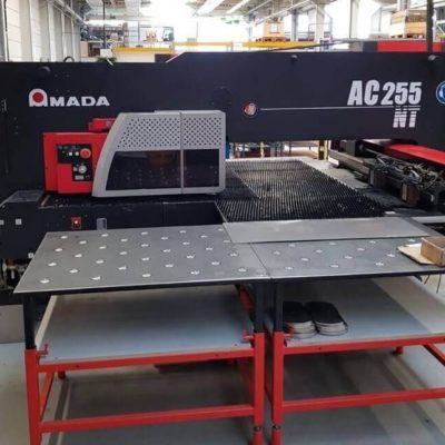 CNC punching machine Amada AC 255 NT, 2007 year