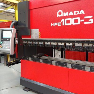 Amada HFE 100-3, 2007 CNC press brake