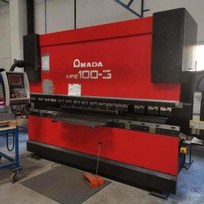 Amada HFE 100-3 CNC press brake