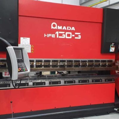 Amada CNC press brake HFE 130-3