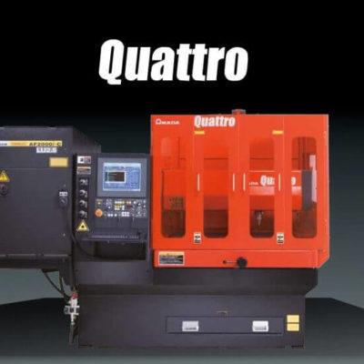Laser cutting machine Amada Quattro